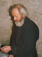 One of the monastery's two remaining monks